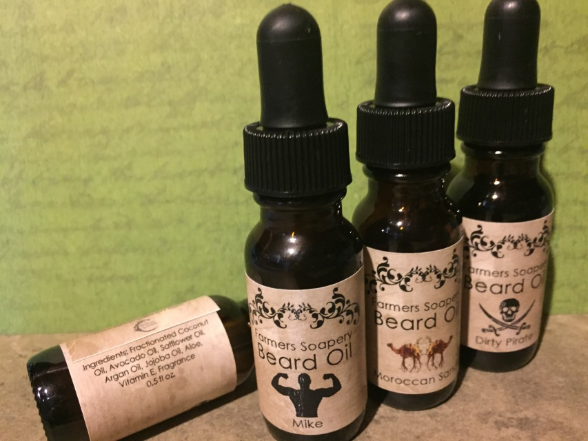 Celtic Myst Beard Oil